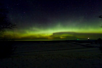 Northern Lights in the Keweenaw